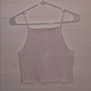 ☆ Smocked High Neck Top ☆